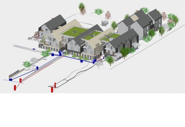 Catégorie <5000 m² en neuf et en réno : Le Melleray : 32 logements neufs à Saint-Denis-en-Val (Loiret)